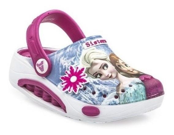 Zuecos De Goma Sandalias Frozen Elsa Fty