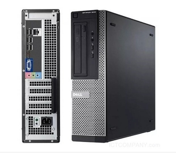 Cpu Dell Optiplex Core I3 3.1ghz 4gb Hd 1 Tera Win 7 Usado