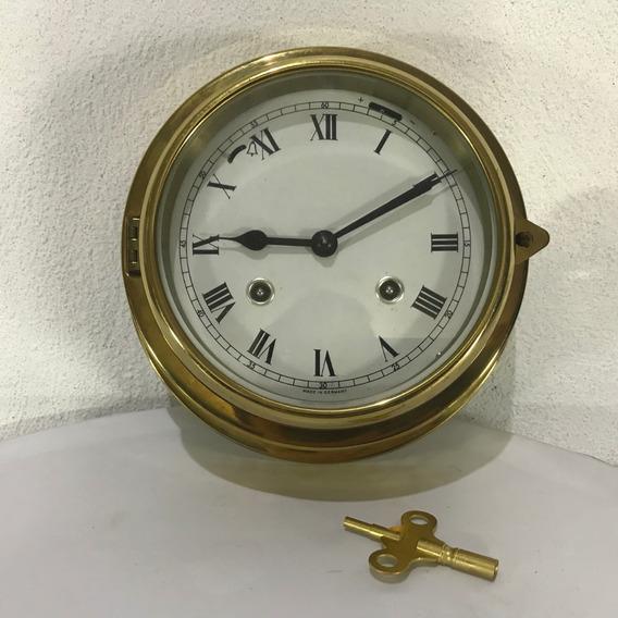 Hermoso Reloj Alemán 100% Original Marinero Vintage 8 Dias.
