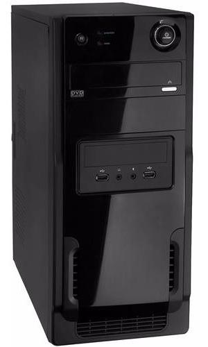 Computador Amd Dual+4gb+hd1tera+gabinete+gravador De Dvd