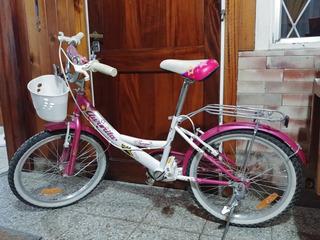 Bicicleta Aurorita R 20 Princesa