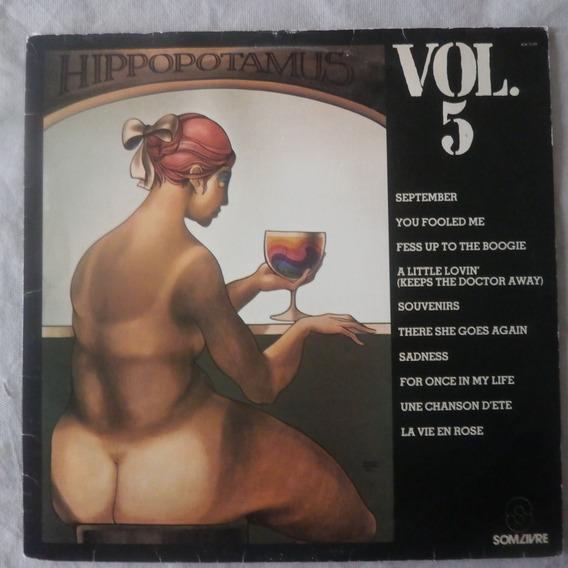 Lp Hippopotamus 1979 Vol.5, Disco Vinil Discotheque Seminovo