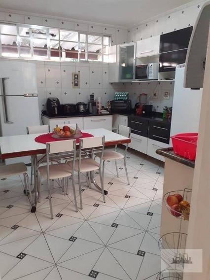Lindo Sobrado Com 3 Suítes, 146 M² Por R$ 647.900 - Nova Gerti - São Caetano Do Sul/sp - So0017