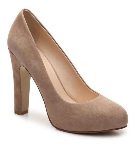 Zapatos Nine West Tacones Beige Y Negro Scardino