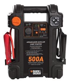 Auxiliar De Partida 500a Js500s 12v Bivolt Black Decker