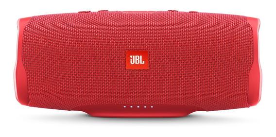 Caixa De Som Jbl Charge 4 Portátil Red