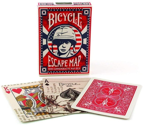 Baraja Cartas Bicycle Escape Maps