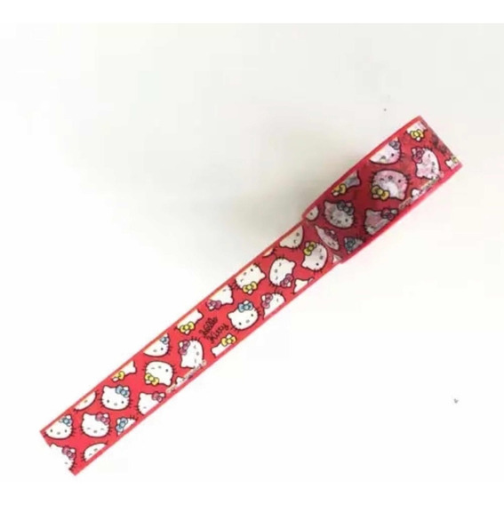 Washi Tape Fita Decorativa Hello Kitty Melody