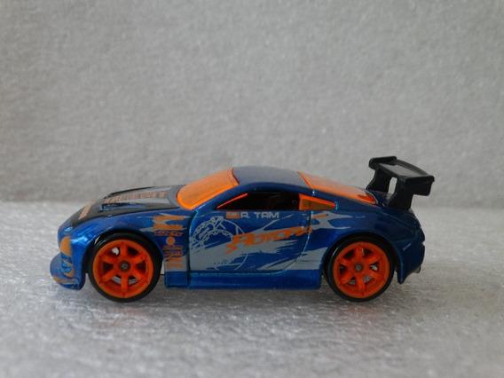 Nissan 350z Azul Hot Wheels 2006 1:64 Loose