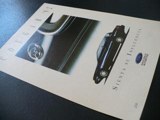Publicidad Ford Cougar 92 Autos Selecciones Revista Vintage