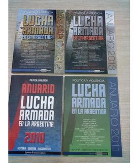 Combo Anuarios Lucha Armada 2010, 2011, 2012 Y 2013