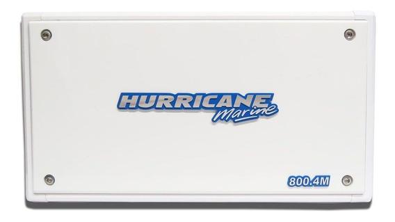 Amplificador Marine Hurricane 800.4m Marinizado Barco Lancha