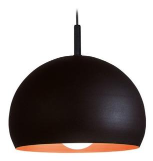 Lampara Colgante Faroluz Moderno Chapa E27 1 Luz Led