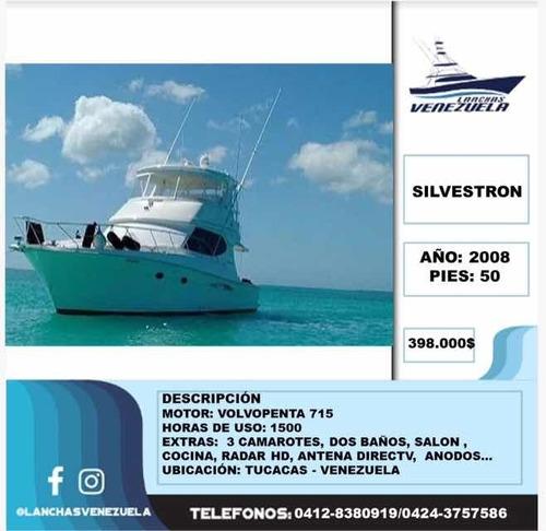 Lancha Silvestron 50 Lv100