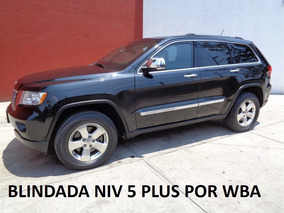 Grand Cherokee Hemi 4x4 Blindada Nivel 5 Plus 2012 Impecable