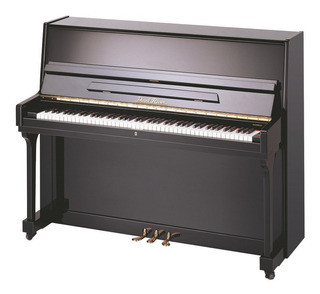 Piano Vertical Pearl River Up115m2 (a111) Con Silla, Ebony P