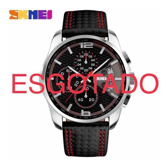 2 Relógios Masculino Skmei 9106 Por Tempo Limitado