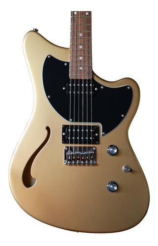 Guitarra Semi Acustica Tagima Jet Blues Gold Series Brasil