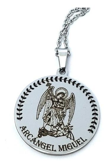 Collar Arcangel Miguel Con Oración Cat42159