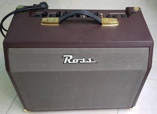 Amplificador Ross 25w Acustico Guitarra Teclado Multifuncion