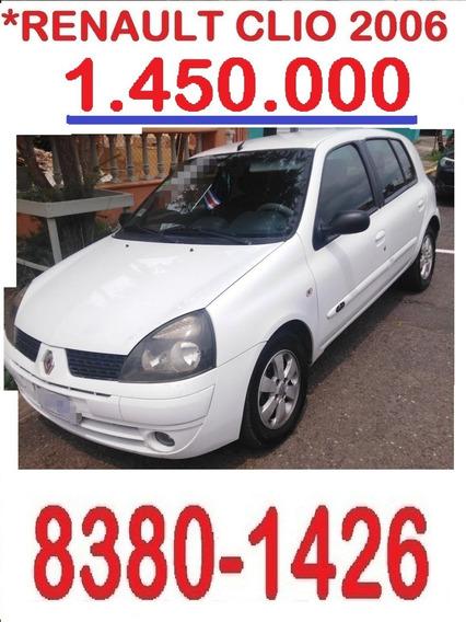 Renault Clio 2006 Hb 1.450.000 Al 8380-1426- Rtv20