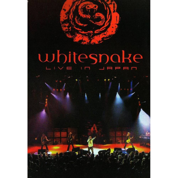 Dvd Whitesnake Live In Japan