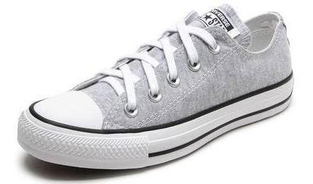 Tenis All Star Converse Moleton - Ct048500 Cinza