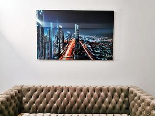 Cuadro De Acrílico, Impresión Fotográfica Metalica 90x140cm