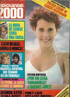 Radiolandia 2000 Nº 2585 Año 1978 Sylvia Krystel Z10