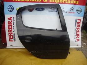 Porta T-d Do Peugeot 206 Sw Com Detalhe