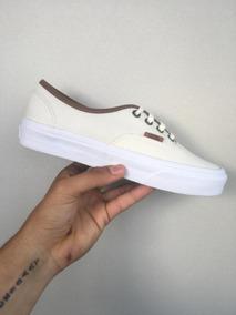 Vans Classic True/white (com Couro) - 100% Original