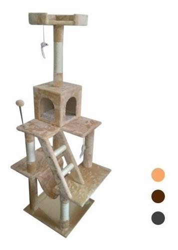 Rascador Para Gatos 45x45x155cm Diferentes Colores + Envio