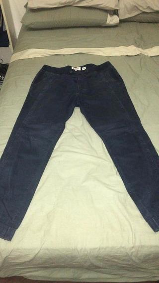 Pantalon Abercrombie And Fitch Con Elástico En La Bocamanga