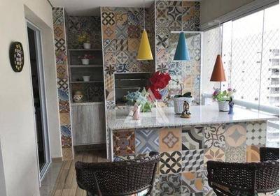 Apartamento Com 3 Dormitórios À Venda, 135 M²- São José - São Caetano Do Sul/sp - Ap40050