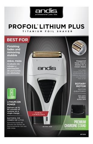 Maquina Afeitadora Profesional Andis Profoil Lithium Plus