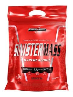 Sinister Mass 3kg Integralmedica Todos Sabores