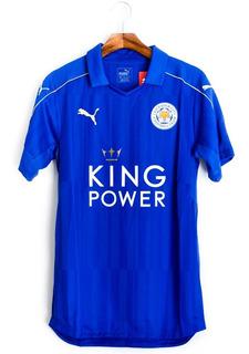 Camisa De Futebol Masculino Leicester City 2016/17 Puma