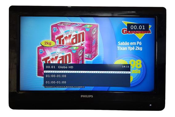 Tv Philips 26 Polegadas Lcd C/ Hdmi, 26pfl3404