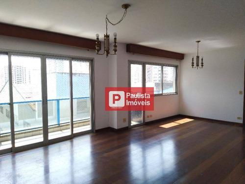 Apartamento Com 3 Dormitórios À Venda, 120 M² - Campo Belo - São Paulo/sp - Ap23129