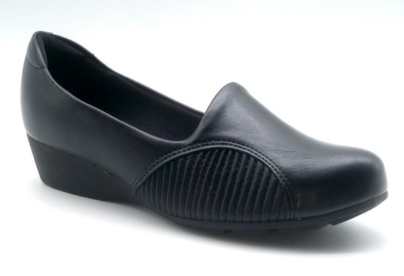 Sapato Feminino Modare Ultraconforto Salto Baixo Anabela
