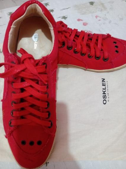 Tênis Osklen Vermelho