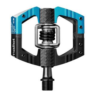 Crank Brothers Mallet Enduro Long Spindle Pedal, Black/blue