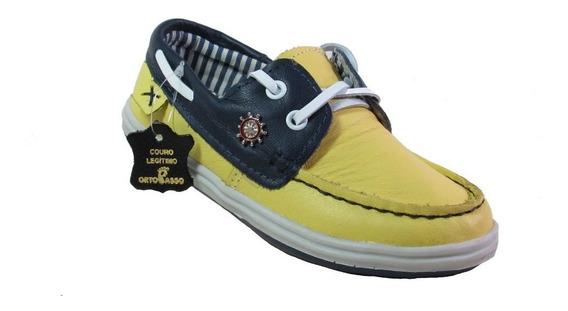Dockside Ortopasso Amarelo Marinho 8244-4312