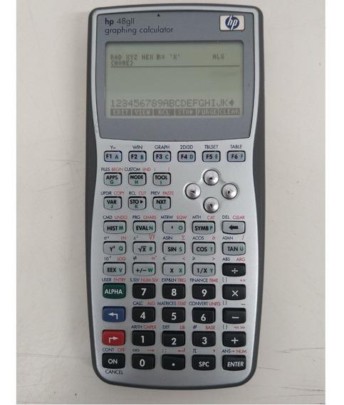 Calculadora Gráfica Cientifica Simbólica Hp 48g Ii - Usada