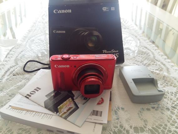 Câmera Digital Canon Powershot Sx610 Hs 20.2-mg Foto E Vídeo