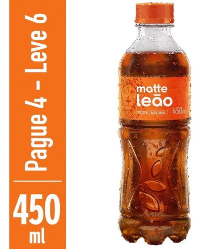 Chá Mate Natural Matte Leão 450ml - Compre 4 Leve 6
