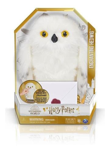 Imagem 1 de 10 de Wizarding World Coruja Hedwig - Harry Potter Som E Movimento