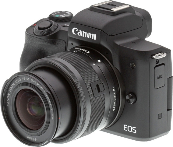 Camera Mirrorlles Canon M50 Com Lente 15-45mm