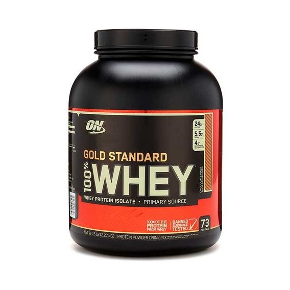 Proteína On Gold Standard 100% Whey 5 Lbs