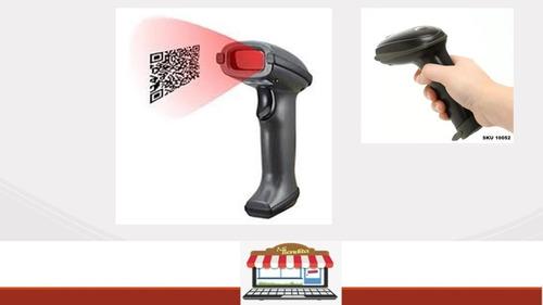 Imagen 1 de 5 de Lector De Código De Barra Laser Usb Para Puntos De Ventas